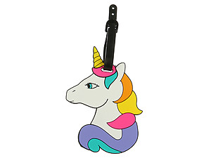 Colorful Unicorn ~ Travel Suitcase ID Luggage Tag and Suitcase Label