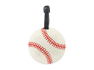 Baseball ~ Travel Suitcase ID Luggage Tag and Suitcase Label
