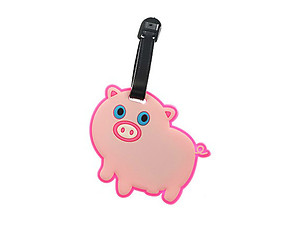 Pig ~ Travel Suitcase ID Luggage Tag and Suitcase Label
