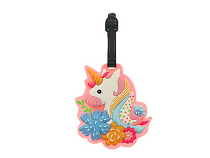 Unicorn ~ Travel Suitcase ID Luggage Tag and Suitcase Label