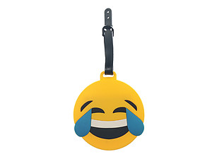 Emoji Face ~ Travel Suitcase ID Luggage Tag and Suitcase Label