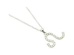 Leo Cubic Zirconia Horoscope Necklace