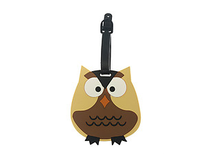 Owl ~ Travel Suitcase ID Luggage Tag and Suitcase Label