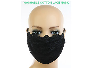 Fashionable Protective Face Mask Washable Reusable ~ Style 734D