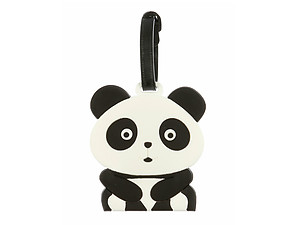 Travel Suitcase ID Luggage Tag and Suitcase Label - Panda Bear