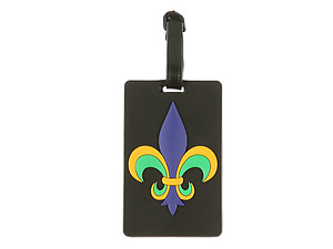 Fleur De Lis ~ Travel Suitcase ID Luggage Tag and Suitcase Label