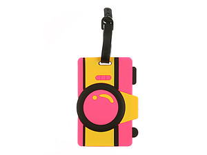 Camera ~ Travel Suitcase ID Luggage Tag and Suitcase Label