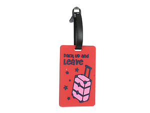 Travel Suitcase ID Luggage Tag and Suitcase Label - Pack Up