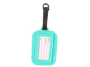 Travel Suitcase ID Luggage Tag and Suitcase Label - Keep Calm