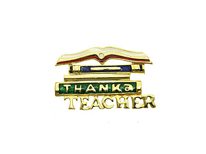 Thank a Teacher Pin & Brooch