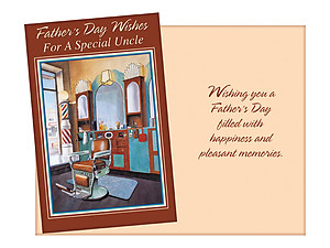 Happiness and Pleasant Memories ~ Father's Day Card For Uncle