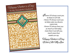More Than Words Can Say ~ Father's Day Card