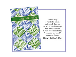 How Much It Means ~ Father's Day Card