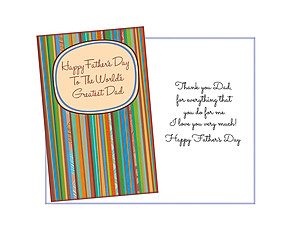 Everything That You Do For Me ~ Father's Day Card