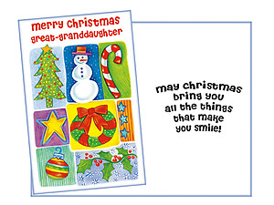 Things That Make You Smile ~ Holiday Greeting Card