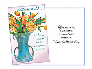Respected and Cherished ~ Mother's Day Card