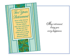 Every Happiness ~ Retirement Card