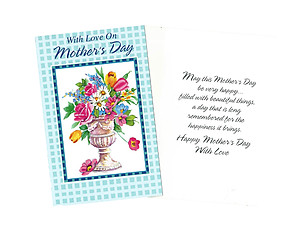 Happiness It Brings ~ Mother's Day Card