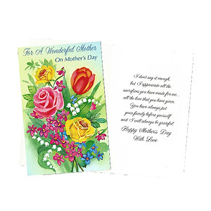 I Don't Say It Enough ~ Mother's Day Card