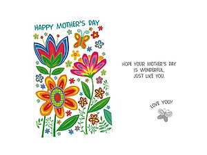 Just Like You ~ Mother's Day Card