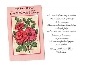 Shares Her Wisdom ~ Mother's Day Card