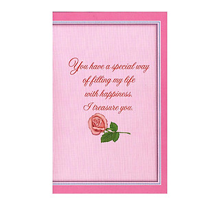 Filling My Life With Happiness ~ Valentine's Day Card