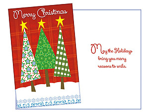 Reasons To Smile ~ 6 Pack Holiday Greeting Cards