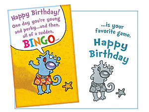 Your Favorite Game ~ Happy Birthday Card