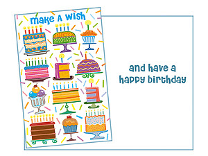 Make A Wish ~ Happy Birthday Card