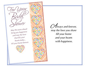 Always and Forever ~ Bridal Shower Card