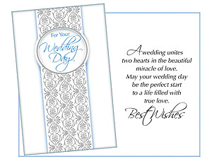 Miracle Of Love ~ Wedding Day Card
