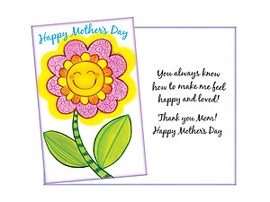 Happy and Loved ~ Mother's Day Card
