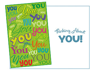 You ~ Thinking Of You Card