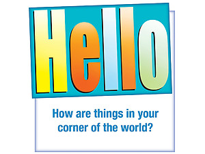 Hello ~ Thinking Of You Card