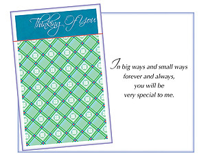 Forever And Always ~ Thinking Of You Card