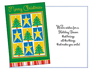 Warm Wishes For A Holiday Season ~ 6 Pack Holiday Greeting Cards