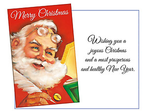 A Joyous Christmas ~ 6 Pack Holiday Greeting Cards