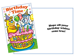 Wishes Come True ~ Happy Birthday Card