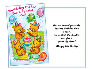 A Great Big Cheer ~ Happy Birthday Card