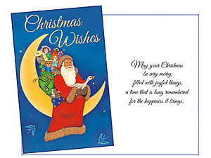 Christmas Wishes ~ 6 Pack Holiday Greeting Cards