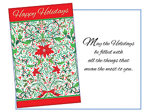 Things That Mean The Most ~ 6 Pack Holiday Greeting Cards