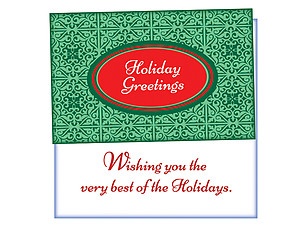 The Very Best ~ 6 Pack Holiday Greeting Cards