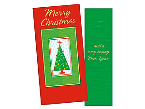 Christmas Tree ~ Christmas Holiday Gift Card or Money Holder