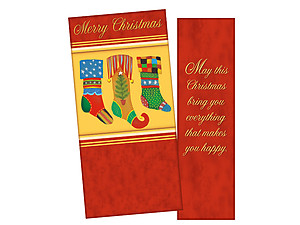 Everything That Makes You Happy ~ Christmas Holiday Gift Card or Money Holder