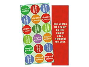 A Happy Holiday Season ~ Christmas Holiday Gift Card or Money Holder