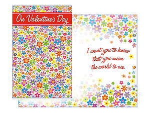 You Mean The World To Me ~ Valentine's Day Card