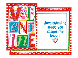 Thinking About You ~ Valentine's Day Card