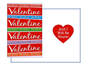 I Will Be Yours ~ Valentine's Day Card