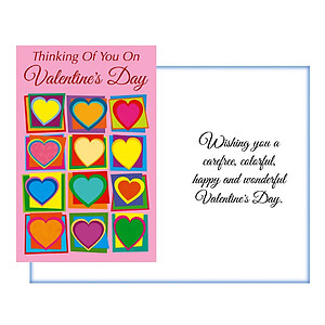 Wishing You A Carefree ~ Valentine's Day Card