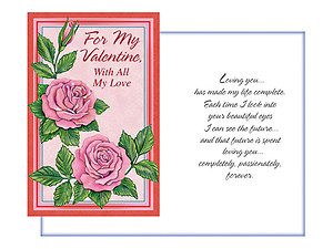 Loving You ~ Valentine's Day Card